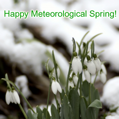 Happy Meteorologoical Spring