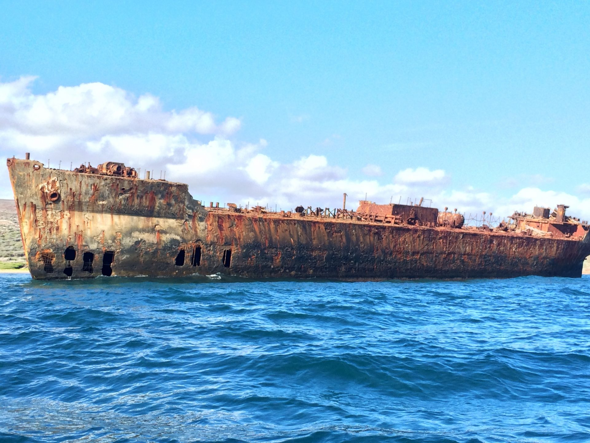 Have you ever considered a boat trip around the island of Lanai?